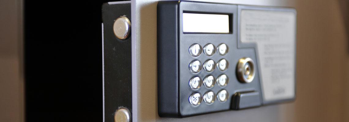 Un mini coffre-fort